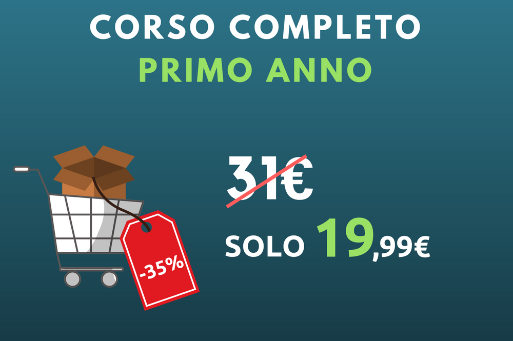 Full Pack – Primo Anno L33